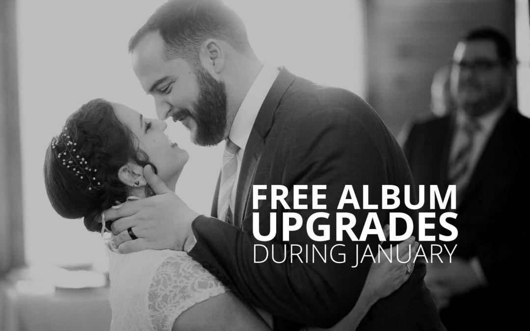 Free Album Upgrades During January