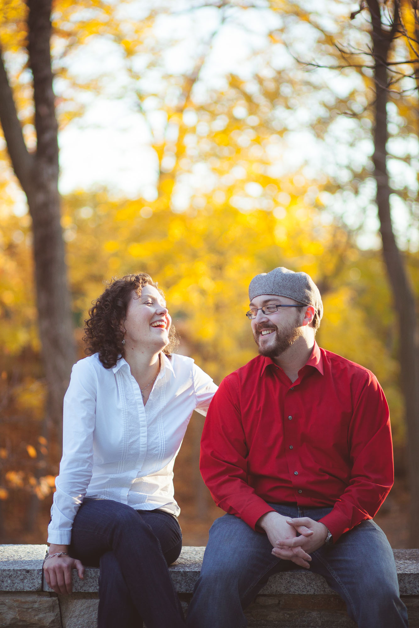 Engagement Session at John Paul 2 Memorial in DC Petruzzo Photography 17