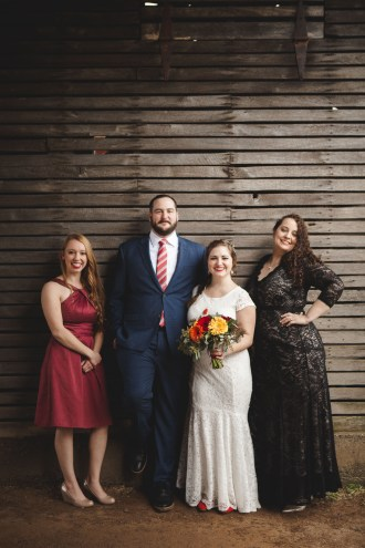 Bright Wedding On a Dreary Day at Linganor Wines 13