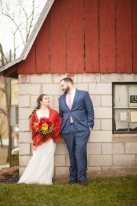 Bright Wedding On a Dreary Day at Linganor Wines 46