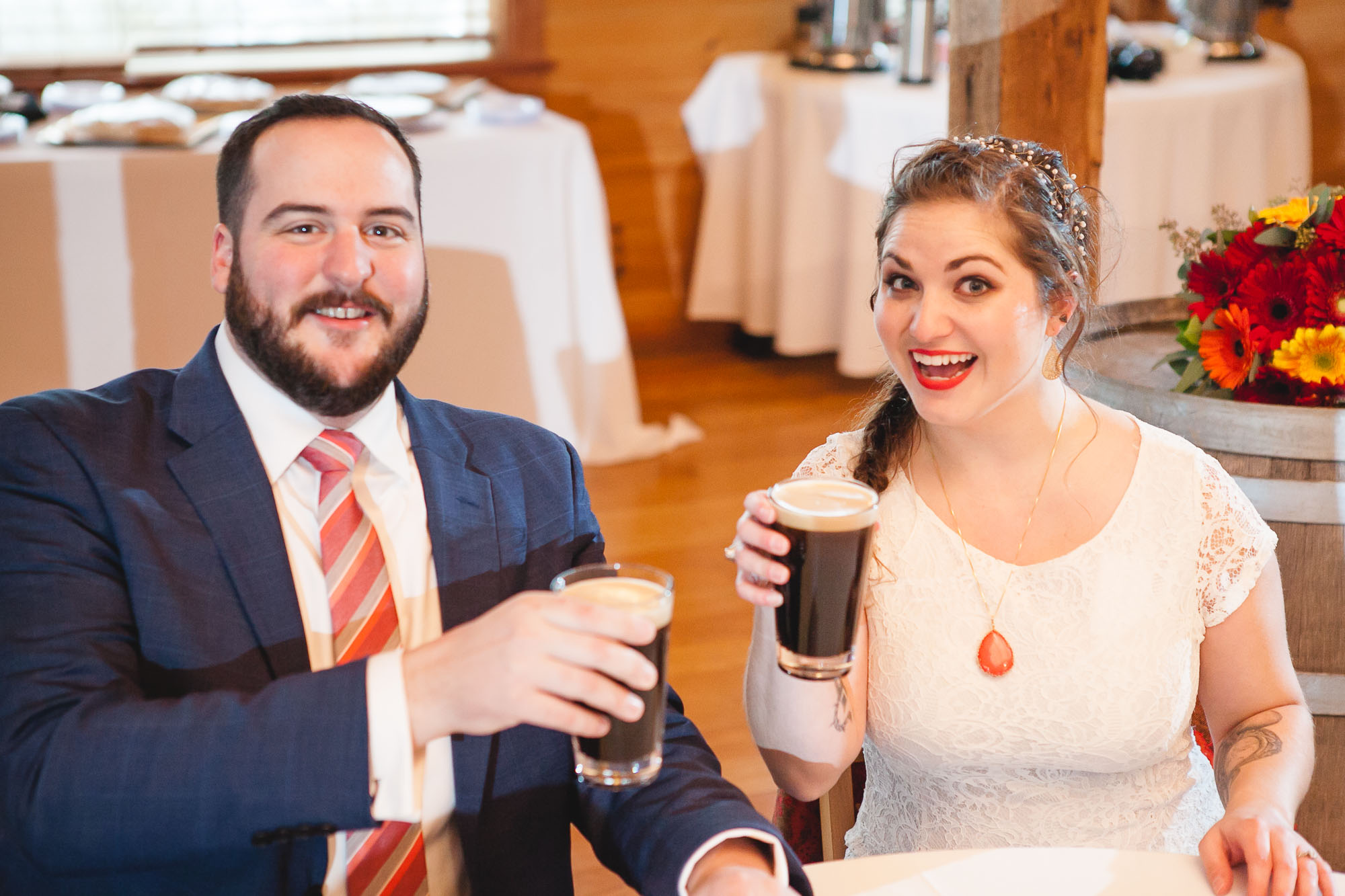 Bright Wedding On a Dreary Day at Linganor Wines 58