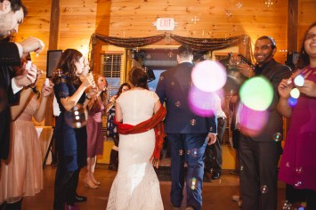 Bright Wedding On a Dreary Day at Linganor Wines 95