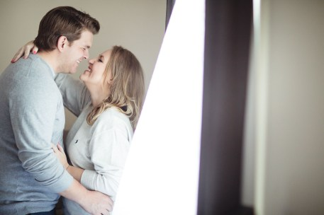 An Engagement Session at Home 13