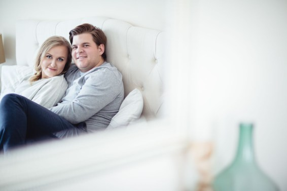 An Engagement Session at Home 18
