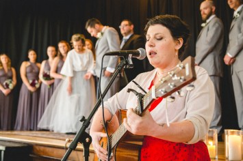 A Wedding at Historic Baldwin Hall from Greg & Erik 37