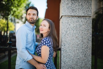An Engagement Session Through the Halls of the National Portraits Gallery 26