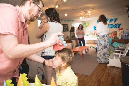 Felipe Covers This Little Guys First Birthday 14
