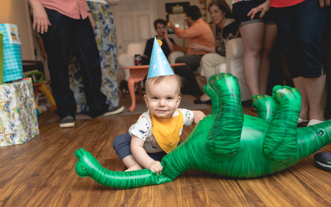 Felipe Covers This Little Guys First Birthday