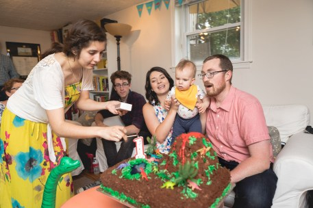 Felipe Covers This Little Guys First Birthday 25