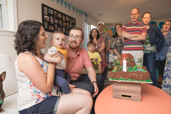 Felipe Covers This Little Guys First Birthday 27