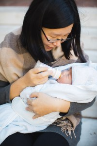 Meeting the Newborn on the Johns Hopkins Campus in Baltimore 12