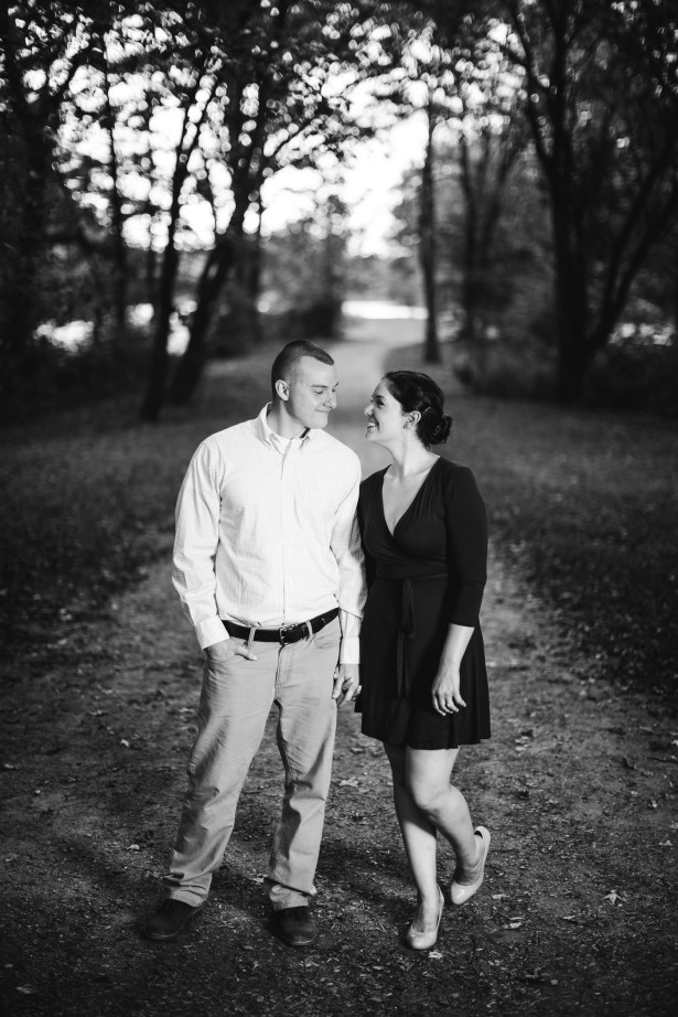 This Couple's Engagement Session in White & Maroon 16