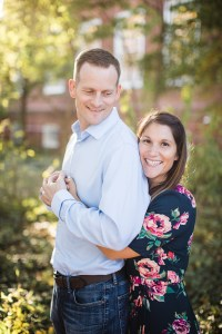 Hand & Hand & Paw Engagement Session on the Streets of Annapolis 10