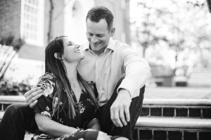 Hand & Hand & Paw Engagement Session on the Streets of Annapolis 11