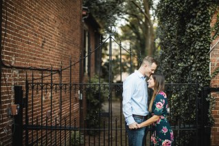 Hand & Hand & Paw Engagement Session on the Streets of Annapolis 16