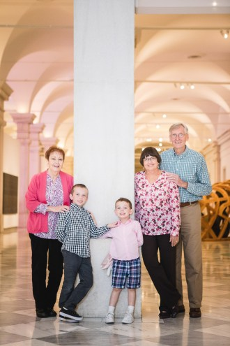 A Family Portrait at The National Portrait Gallery & The Supreme Court Grounds 04