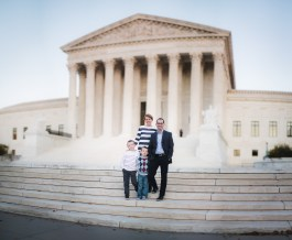 A Family Portrait at The National Portrait Gallery & The Supreme Court Grounds 25