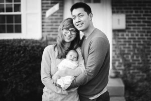 A Portrait Session with a Newborn Family 21
