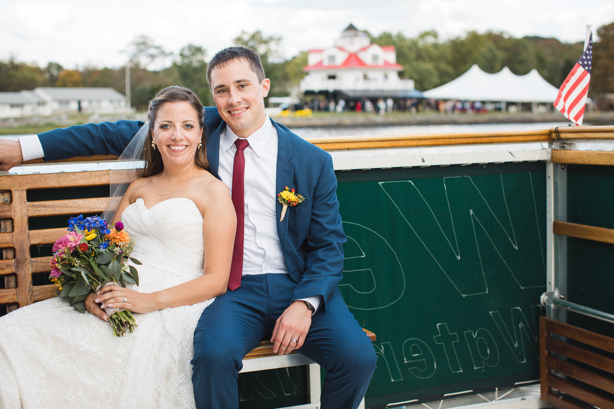 Beautiful Wedding Ceremony Formals at a Private Chesapeake Bay Lighthouse 33