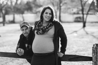 A Mixed Light Maternity Portrait Session at Every-Park USA 04