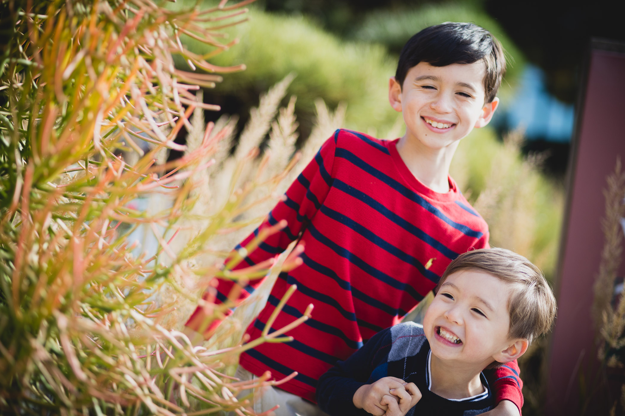 This Family Portrait Session in the National Arboretum 06