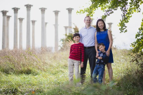 This Family Portrait Session in the National Arboretum 21