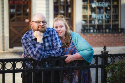 Ellicott City is For Lovers, An Engagement Session 11