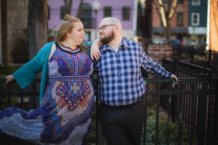 Ellicott City is For Lovers, An Engagement Session 12