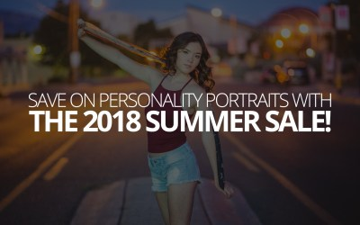 Save on Personality Portraits with the 2018 Summer Sale!