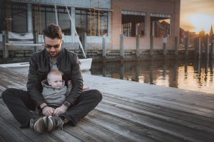 Sunset Family Portraits with Greg on the Streets of Downtown Annapolis 19