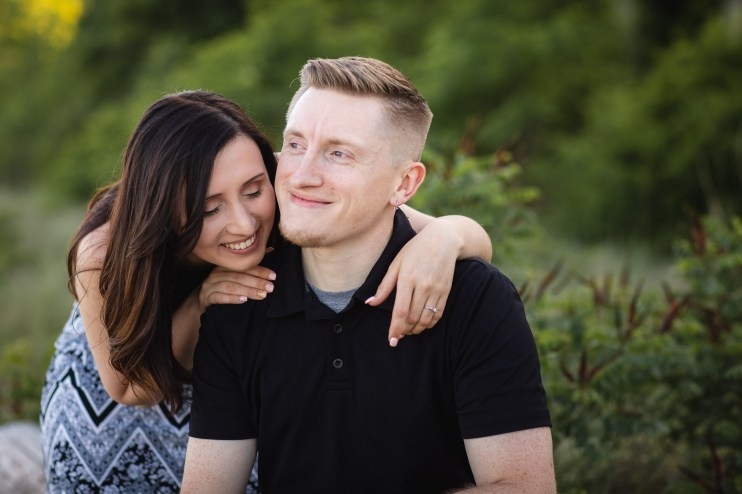 This Couple Just Got Married, Check Out Their Beach Engagement Photos 07