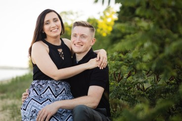 This Couple Just Got Married, Check Out Their Beach Engagement Photos 08