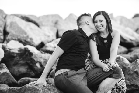This Couple Just Got Married, Check Out Their Beach Engagement Photos 15