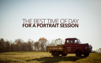 The Best Time of Day For a Portrait Session