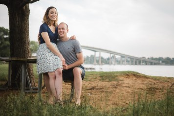 Wedding Imminent, A Low-Key Engagement Session in Annapolis 05
