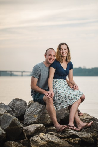 Wedding Imminent, A Low-Key Engagement Session in Annapolis 11