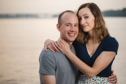 Wedding Imminent, A Low-Key Engagement Session in Annapolis 12