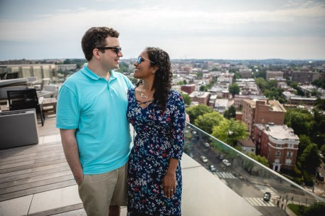 A Romantic Engagement Session from Felipe at The Kennedy Center in DC 08
