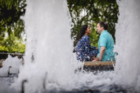 A Romantic Engagement Session from Felipe at The Kennedy Center in DC 14
