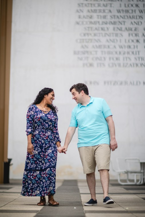 A Romantic Engagement Session from Felipe at The Kennedy Center in DC 17
