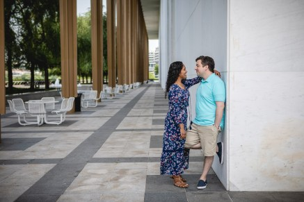 A Romantic Engagement Session from Felipe at The Kennedy Center in DC 21