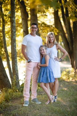 An Extended Family Portrait Session at the Garrison School 05