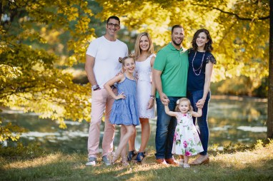 An Extended Family Portrait Session at the Garrison School 07