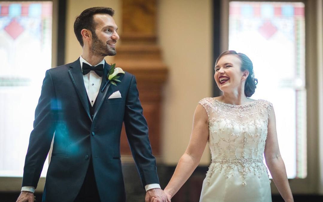 The Loft at 600F & The National Portrait Gallery Wedding Photography | Colleen & Tom
