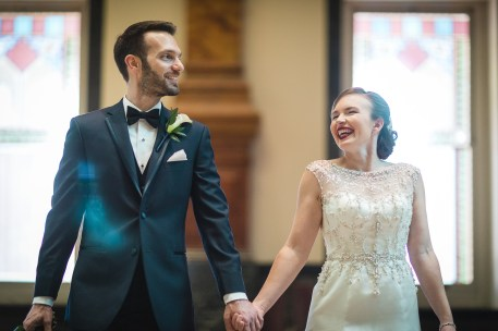 An Intimate September Wedding at The Loft at 600F & The National Portrait Gallery 22