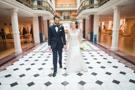 An Intimate September Wedding at The Loft at 600F & The National Portrait Gallery 24
