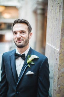 An Intimate September Wedding at The Loft at 600F & The National Portrait Gallery 26