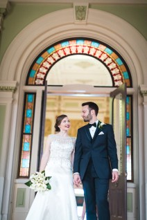 An Intimate September Wedding at The Loft at 600F & The National Portrait Gallery 29