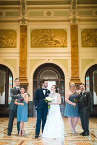 An Intimate September Wedding at The Loft at 600F & The National Portrait Gallery 32