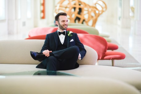 An Intimate September Wedding at The Loft at 600F & The National Portrait Gallery 37